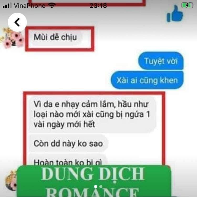 Dung Dịch Romance Hằng Thu