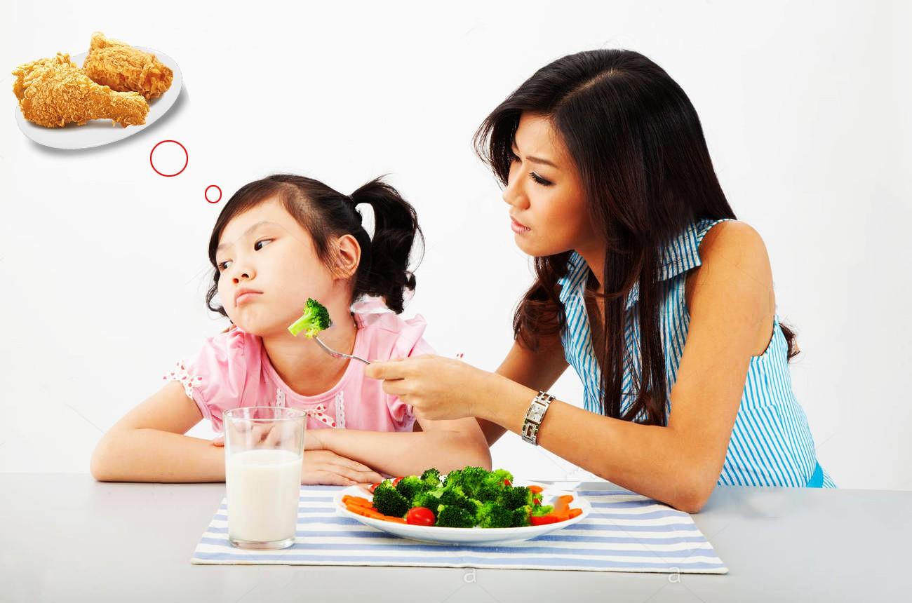 Thực phẩm kích thích ăn ngon cho bé giúp bé mau lớn